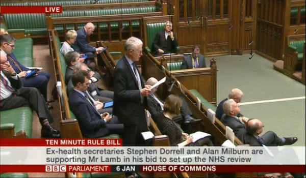 MPs debate NHS and Social Care Commission